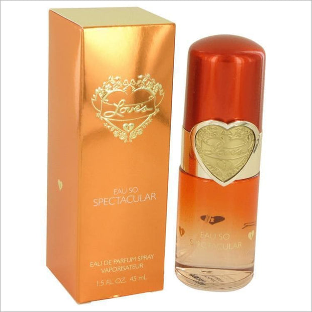 Loves Eau So Spectacular by Dana Eau De Parfum Spray 1.5 oz for Women - PERFUME