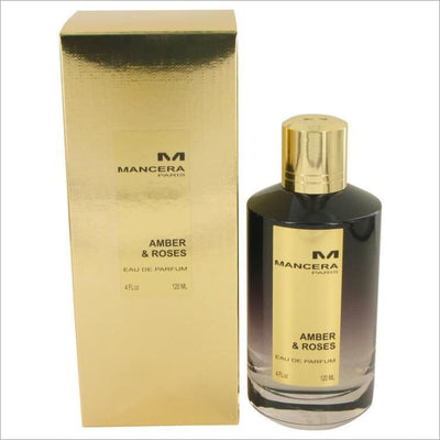 Mancera Amber & Roses by Mancera Eau De Parfum Spray (Unisex) 4 oz for Women - PERFUME