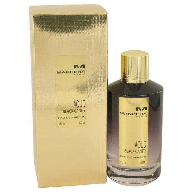 Mancera Aoud Black Candy by Mancera Eau De Parfum Spray (Unisex) 4 oz for Women - PERFUME
