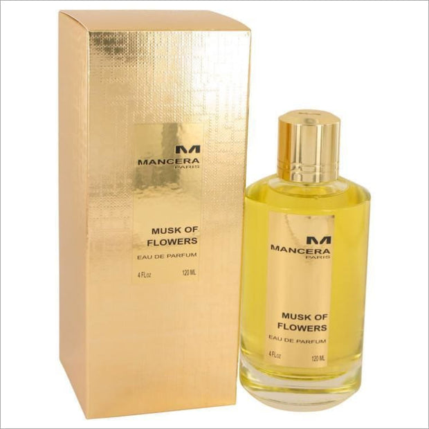 Mancera Musk of Flowers by Mancera Eau De Parfum Spray 4 oz for Women - PERFUME