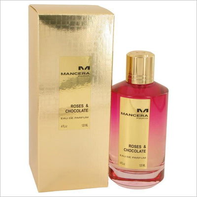 Mancera Roses & Chocolate by Mancera Eau De Parfum Spray (Unisex) 4 oz for Women - PERFUME
