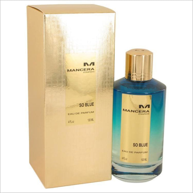 Mancera So Blue by Mancera Eau De Parfum Spray (Unisex) 4 oz for Women - PERFUME