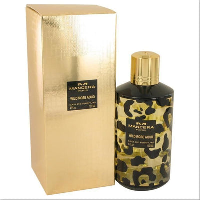 Mancera Wild Rose Aoud by Mancera Eau De Parfum Spray (Unisex) 4 oz for Women - PERFUME