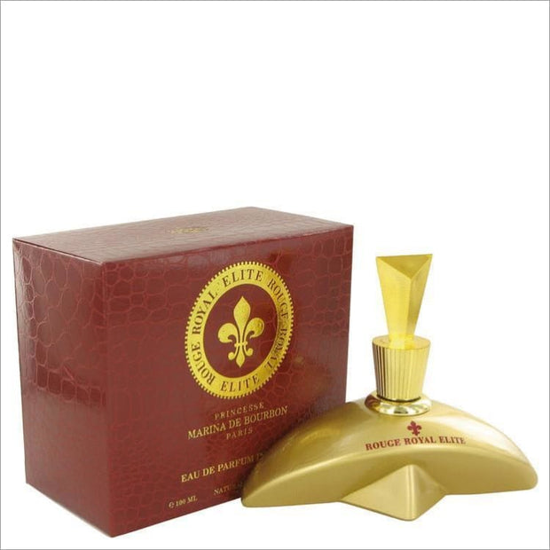 Marina De Bourbon Rouge Royal Elite by Marina De Bourbon Eau De Parfum Intense Spray 3.4 oz for Women - PERFUME