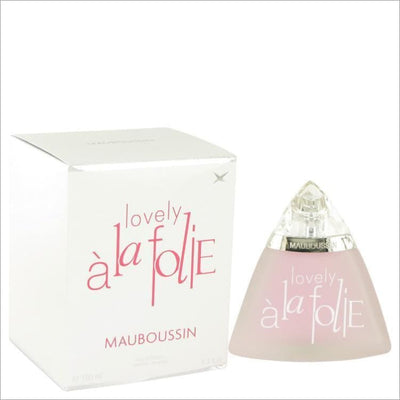 Mauboussin Love A La Folie by Mauboussin Eau De Parfum Spray 3.4 oz for Women - PERFUME