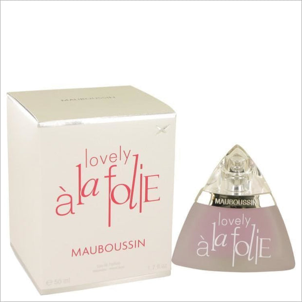 Mauboussin Lovely A La Folie by Mauboussin Eau De Parfum Spray 1.7 oz for Women - PERFUME