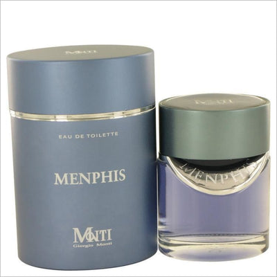 Menphis by Giorgio Monti Eau De Toilette Spray 3.6 oz for Men - COLOGNE