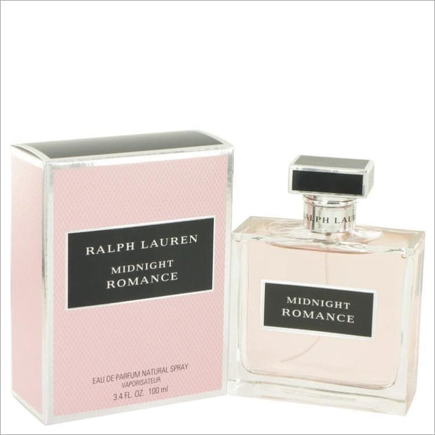 Midnight Romance by Ralph Lauren Eau De Parfum Spray 3.4 oz for Women - PERFUME