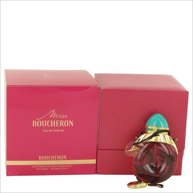 Miss Boucheron by Boucheron Eau De Parfum Refillable .33 oz for Women - PERFUME