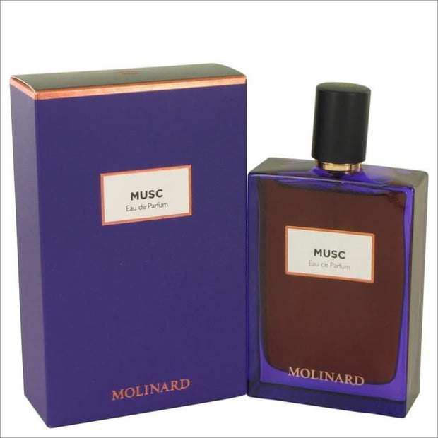 Molinard Musc by Molinard Eau De Parfum Spray (Unisex) 2.5 oz for Women - PERFUME