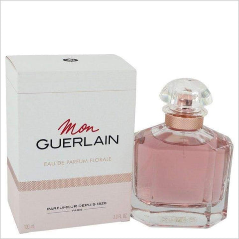 Mon Guerlain Florale by Guerlain Eau De Parfum Spray 3.4 oz for Women - PERFUME