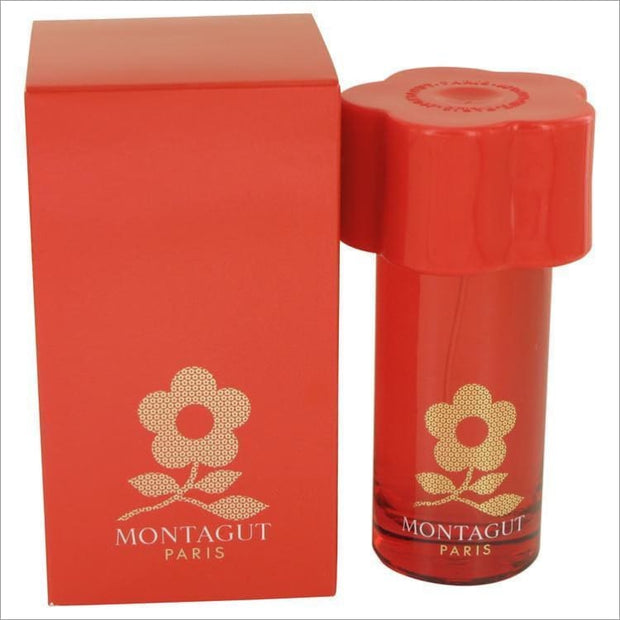 Montagut Red by Montagut Eau De Toilette Spray 1.7 oz for Women - PERFUME