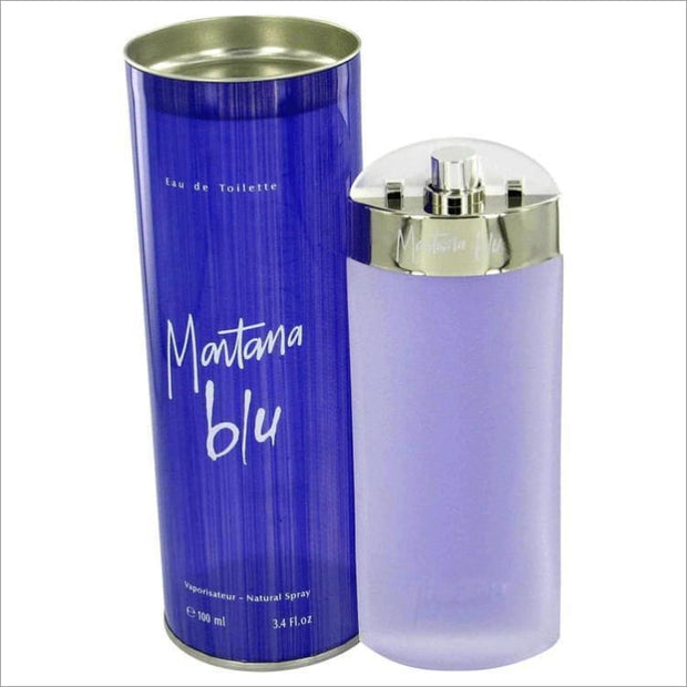 MONTANA BLU by Montana Eau De Toilette Spray 3.4 oz for Women - PERFUME