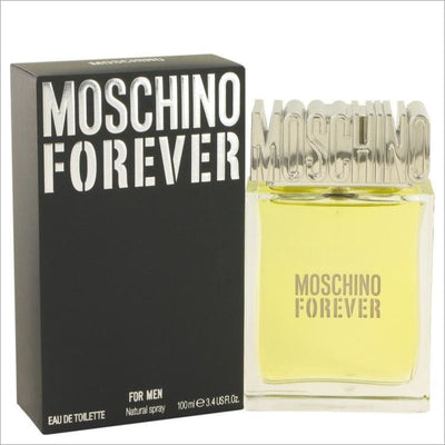 Moschino Forever by Moschino Eau De Toilette Spray 3.4 oz for Men - COLOGNE