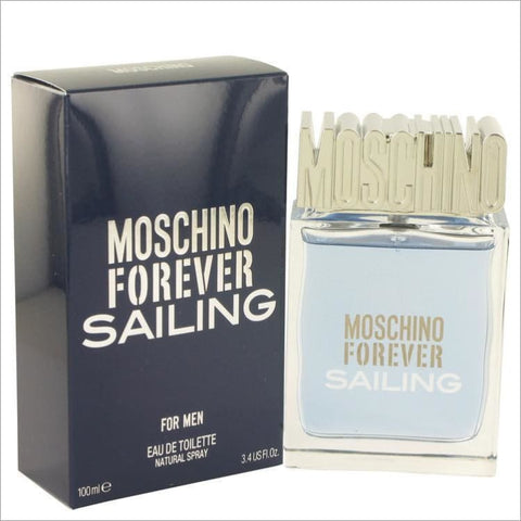 Moschino Forever Sailing by Moschino Eau De Toilette Spray 3.4 oz for Men - COLOGNE