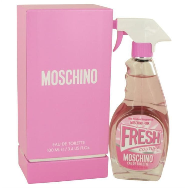 Moschino Pink Fresh Couture by Moschino Eau De Toilette Spray 3.4 oz for Women - PERFUME