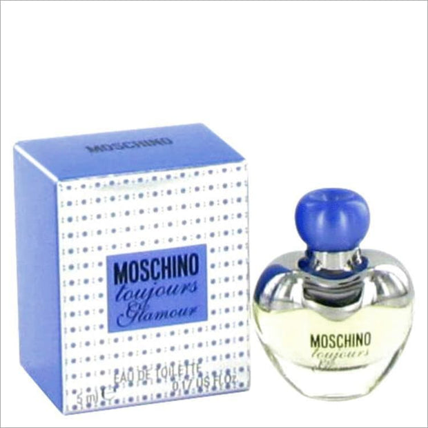 Moschino Toujours Glamour by Moschino Mini EDT .17 oz for Women - PERFUME