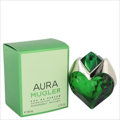 Mugler Aura by Thierry Mugler Eau De Parfum Spray Refillable 1.7 oz for Women - PERFUME