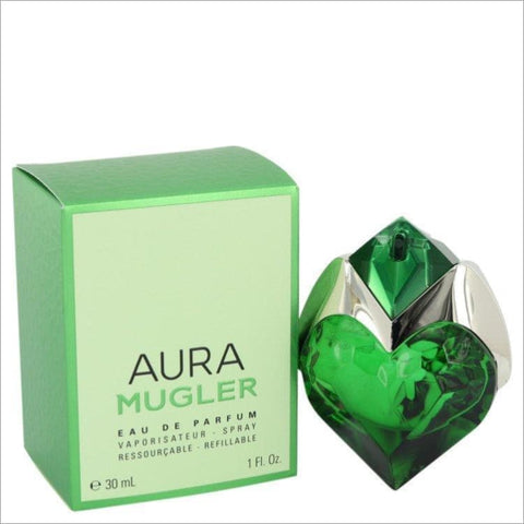 Mugler Aura by Thierry Mugler Eau De Parfum Spray Refillable 1 oz for Women - PERFUME