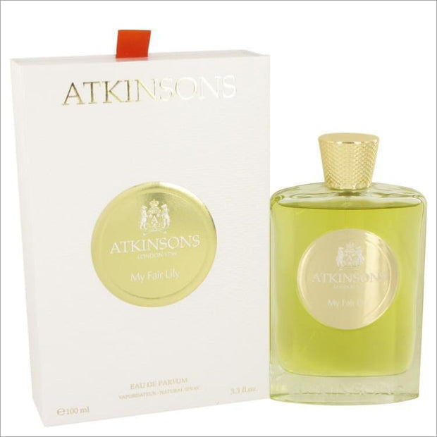 My Fair Lily by Atkinsons Eau De Parfum Spray (Unisex) 3.3 oz for Women - PERFUME