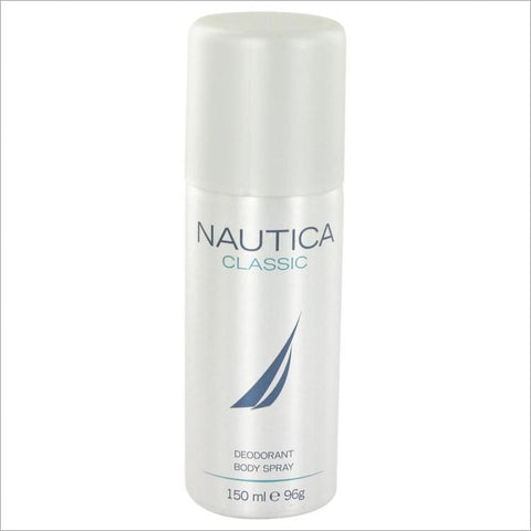 Nautica Classic by Nautica Deodarant Body Spray 5 oz for Men - Fragrances for Men