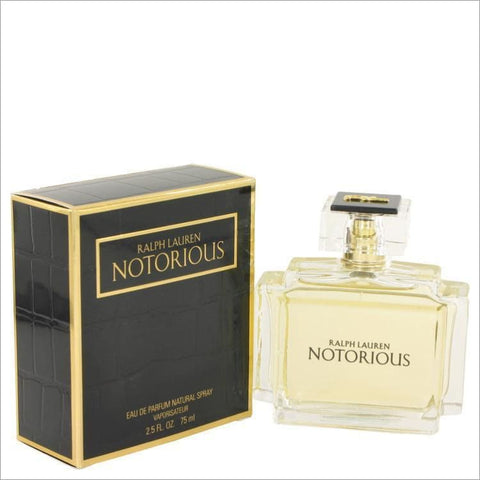 Notorious by Ralph Lauren Eau De Parfum Spray 2.5 oz for Women - PERFUME