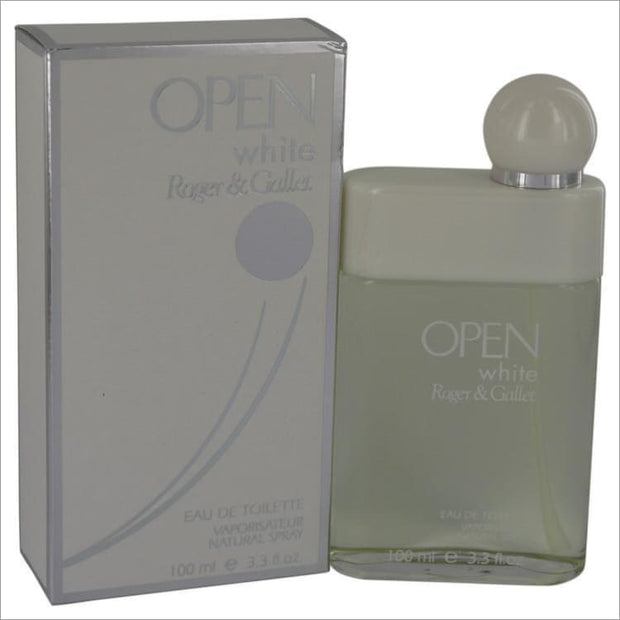 Open White by Roger & Gallet Eau De Toilette Spray 3.3 oz - MENS COLOGNE