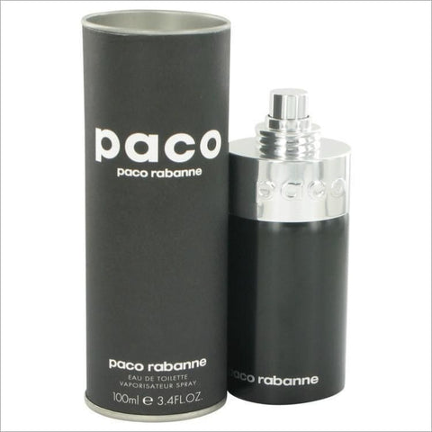 PACO Unisex by Paco Rabanne Eau De Toilette Spray (Unisex) 3.4 oz for Men - COLOGNE