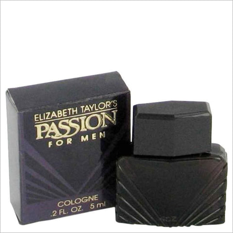 PASSION by Elizabeth Taylor Mini Cologne (unboxed) .2 oz for Men - COLOGNE
