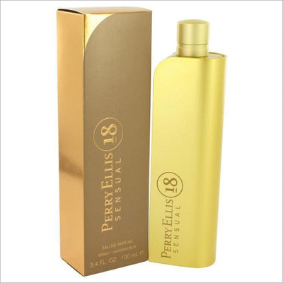 Perry Ellis 18 Sensual by Perry Ellis Eau De Parfum Spray 3.4 oz for Women - PERFUME