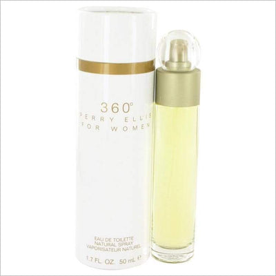 perry ellis 360 by Perry Ellis Eau De Toilette Spray 1.7 oz - WOMENS PERFUME