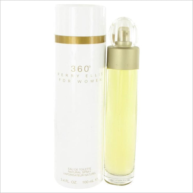 perry ellis 360 by Perry Ellis Eau De Toilette Spray 3.4 oz for Women - PERFUME