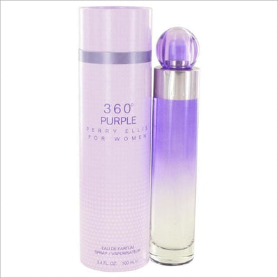 Perry Ellis 360 Purple by Perry Ellis Eau De Parfum Spray 3.4 oz for Women - PERFUME