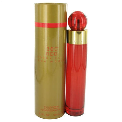 Perry Ellis 360 Red by Perry Ellis Eau De Parfum Spray 3.4 oz for Women - PERFUME