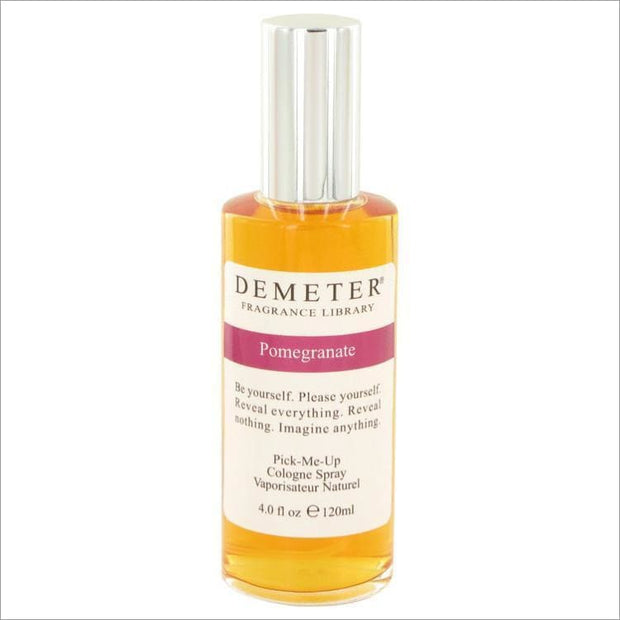 Pomegranate by Demeter Cologne Spray 4 oz for Women - PERFUME