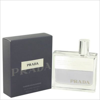 Prada Amber by Prada Eau De Toilette Spray 1.7 oz for Men - COLOGNE