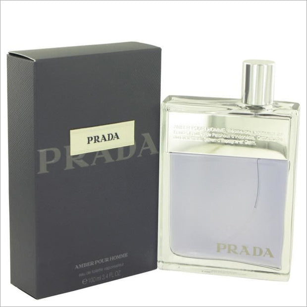Prada Amber by Prada Eau De Toilette Spray 3.4 oz for Men - COLOGNE