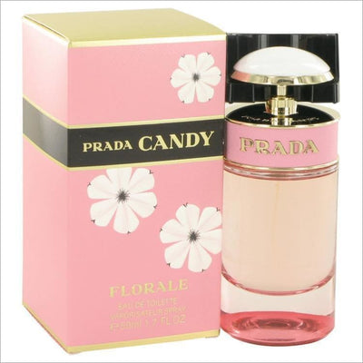 Prada Candy Florale by Prada Eau De Toilette Spray 1.7 oz for Women - PERFUME