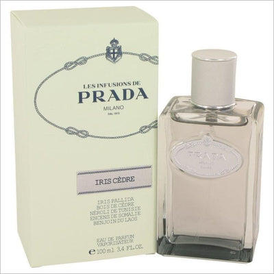 Prada Infusion DIris Cedre by Prada Eau De Parfum Spray (Unisex) 3.4 oz - Famous Perfume Brands for Women
