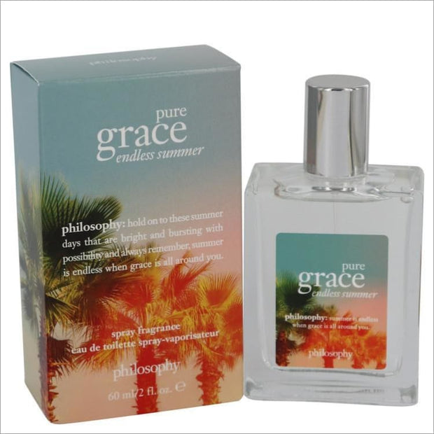 Pure Grace Endless Summer by Philosophy Eau De Toilette Spray 2 oz for Women - PERFUME