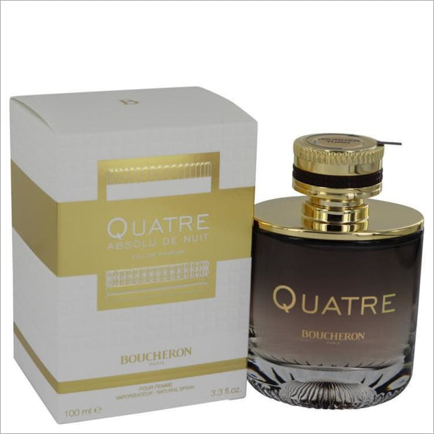 Quatre Absolu De Nuit by Boucheron Eau De Parfum Spray (Tester) 3.3 oz for Women - PERFUME