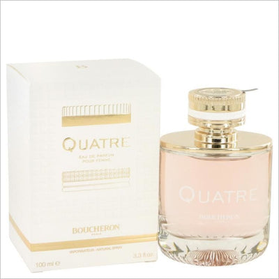 Quatre by Boucheron Eau De Parfum Spray 3.3 oz for Women - PERFUME