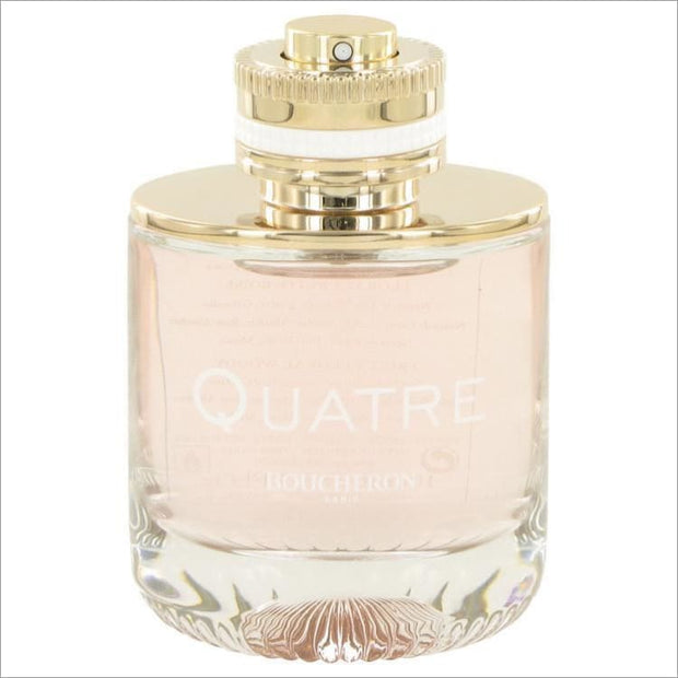 Quatre by Boucheron Eau De Parfum Spray (Tester) 3.3 oz for Women - PERFUME
