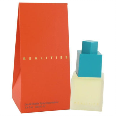 REALITIES by Liz Claiborne Eau De Toilette Spray 3.4 oz for Women - PERFUME
