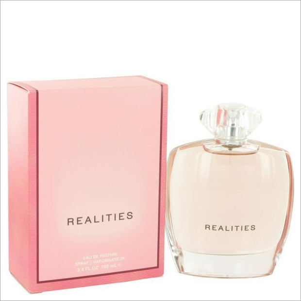Realities (New) by Liz Claiborne Eau De Parfum Spray 3.4 oz for Women - PERFUME