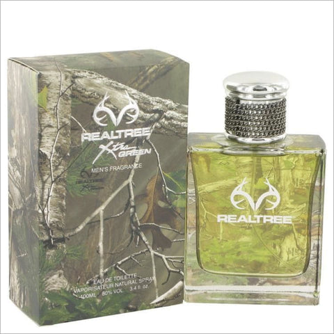 RealTree by Jordan Outdoor Eau De Toilette Spray 3.4 oz for Men - COLOGNE