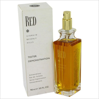 RED by Giorgio Beverly Hills Eau De Toilette Spray (Tester) 3 oz for Women - PERFUME