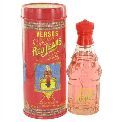 RED JEANS by Versace Eau De Toilette Spray 2.5 oz for Women - PERFUME