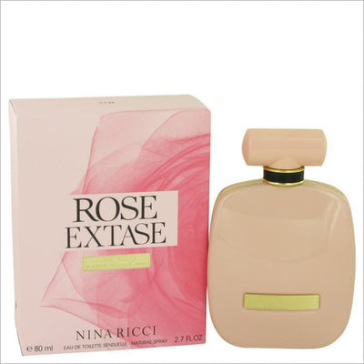 Rose Extase by Nina Ricci Eau De Toilette Sensuelle Spray 2.7 oz for Women - PERFUME