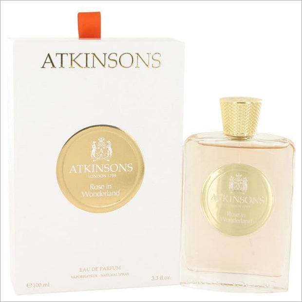 Rose in Wonderland by Atkinsons Eau De Parfum Spray 3.3 oz - WOMENS PERFUME